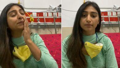 Photo of कोरोना की जंग लड़ रही एक्ट्रेस मोहिना कुमारी का छलका दर्द, बोलीं- 'बहुत डर लग रहा है'- देखें