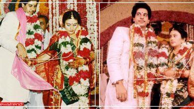 Photo of रामायण की सीता के असली राम से मिलिए- '2 घंटे की मुलाकात में चुन लिया था हमसफर'