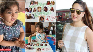 Photo of इनाया की फैमिली ट्री में दिखे सारा और इब्राहिम, करीना ने शेयर की फोटो