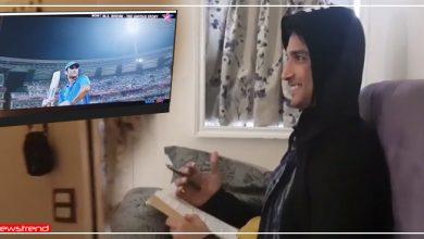 """Photo of सुशांत का टीवी पर अपनी ही फिल्म """"MS Dhoni"""" देखकर कुछ ऐसा था रिएक्शन, आप भी देखें ये वायरल Video"""