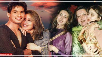 Photo of क्या मां बबिता और बहन करिश्मा की वजह से हुआ था शाहिद-करीना का ब्रेकअप? 12 साल बाद सामने आई बात