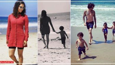 Photo of बच्चों संग मस्ती करते सनी लियॉन ने शेयर की फोटो, कोरोना काल में बीच पर कर रहीं एन्जॉय