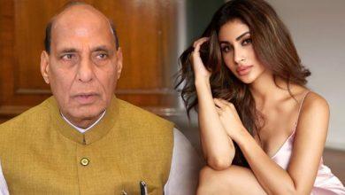 Photo of मौनी रॉय ने ट्विटर पर बरसाया राजनाथ सिंह के लिए प्यार, यूजर ने कहा NCB को आमंत्रण मत दो