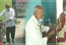 Photo of 87 वर्ष का जांबाज डॉक्टर, रोजाना साइकिल से गरीबों का इलाज करने पहुंचते हैं गांव