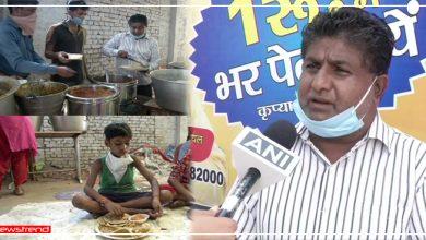 Photo of गरीब भूखे पेट ना सोए इसलिए नेक काम कर रहा है ये शख्स, श्याम रसोई में मिलती है 1 रुपए की थाली