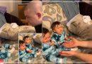 गंजे होकर जुड़वा बच्चों के सामने आ गए पिता, फिर जो हुआ वह बड़ा मजेदार था, देखें Video