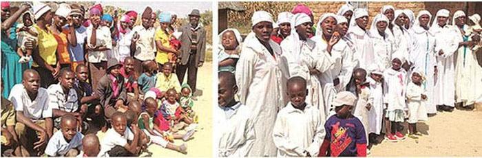 wifes of Misheck Nyandoro