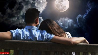 couple in night