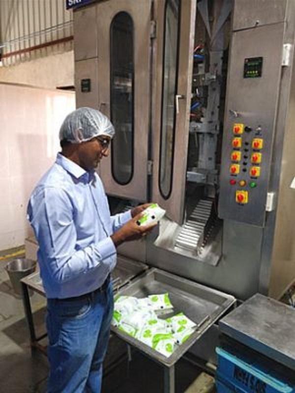 kishore indukuri milk farm