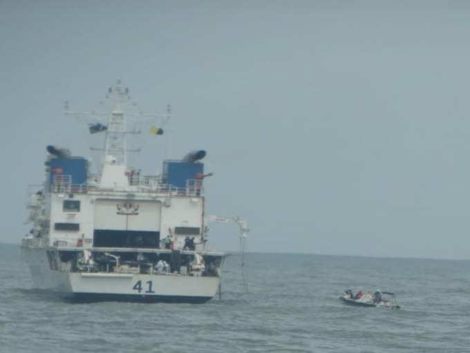 tauktae cyclone indian navy