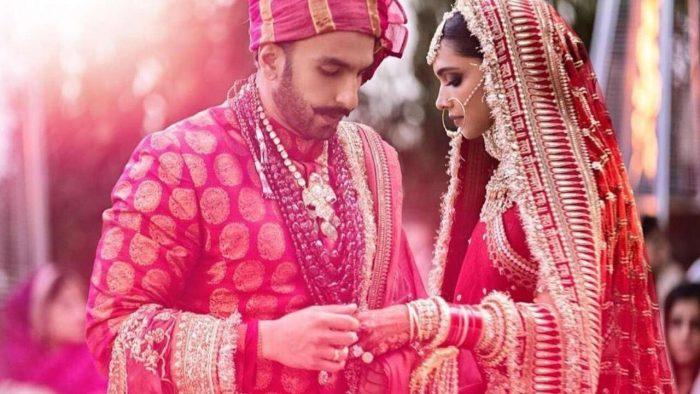 ranveer singh and deepika padukone marriage pictures