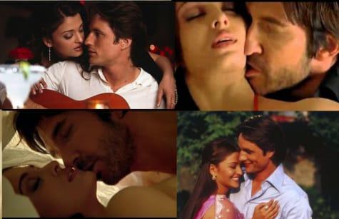 Aishwarya Ray Kissing Scene
