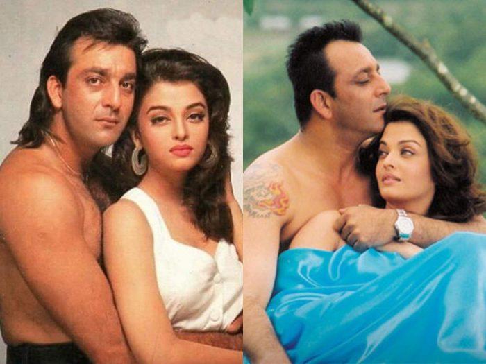 aishwarya rai and sanjay dutt