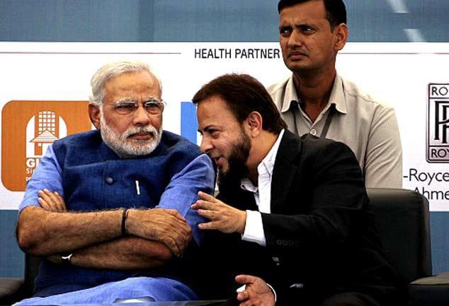 Narendra Modi And Zafar Sareshwala