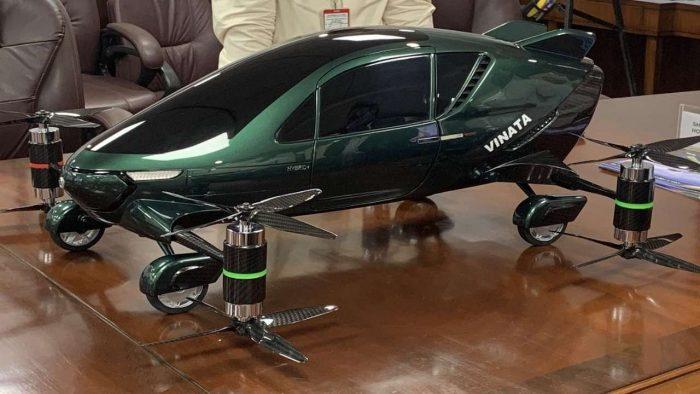 Flying Hybrid Car