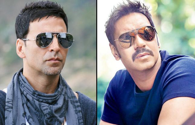 akshay kumar and Ajay Devgn