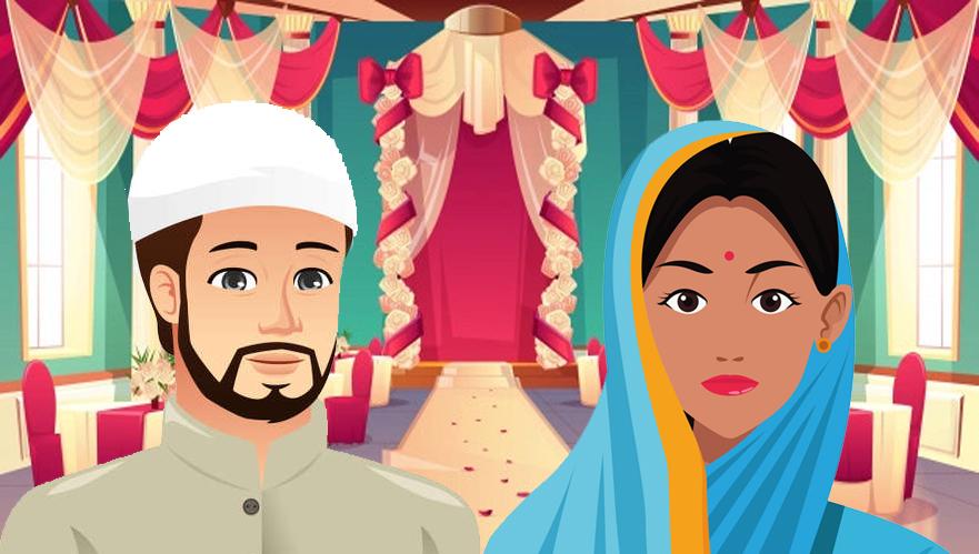 muslim man and hindu woman